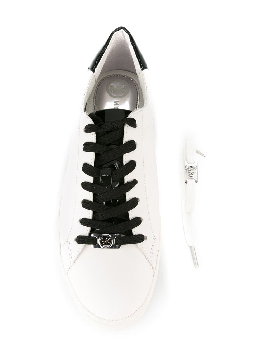 4f562b13aea3 MICHAEL Michael Kors Sneaker Irving Lace Up in White for Men - Lyst