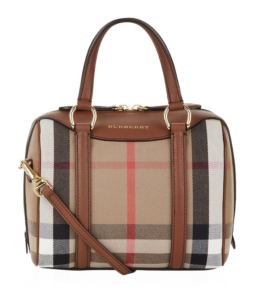 964543ff0761 Keeping Burberry Small Bags   Burberry small alchester bag in brown lyst