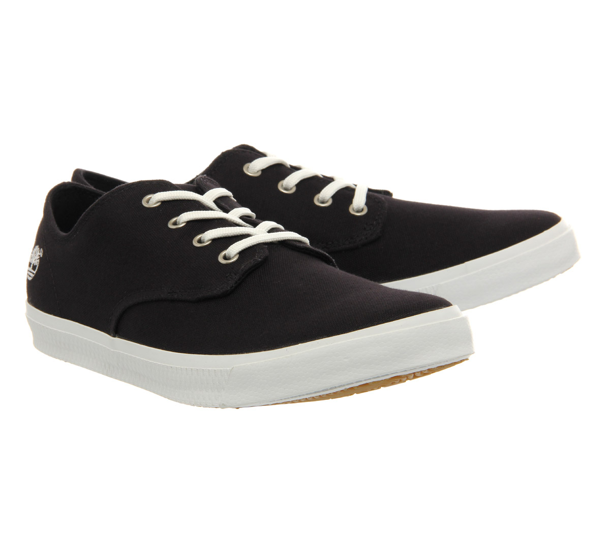 timberland hookset c canvas in black for lyst