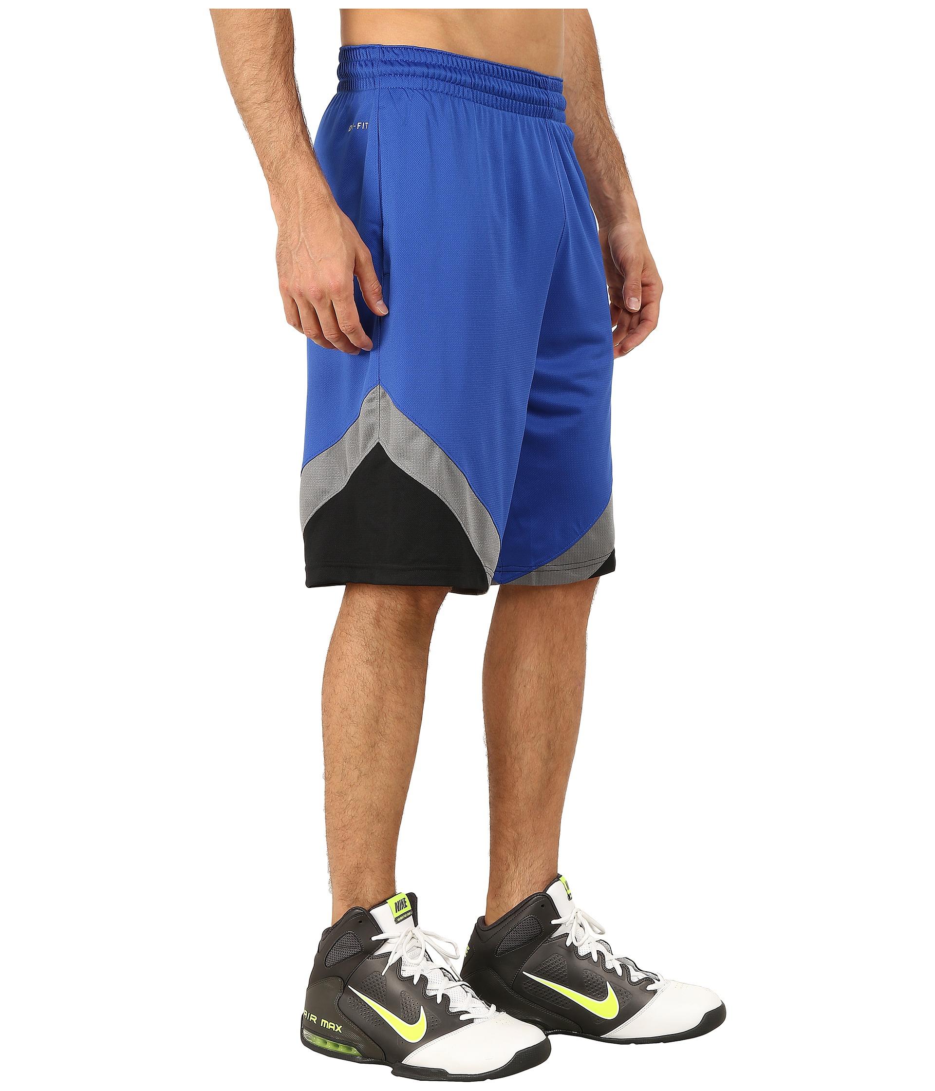 Lyst - Nike Breakaway Shorts in Blue for Men