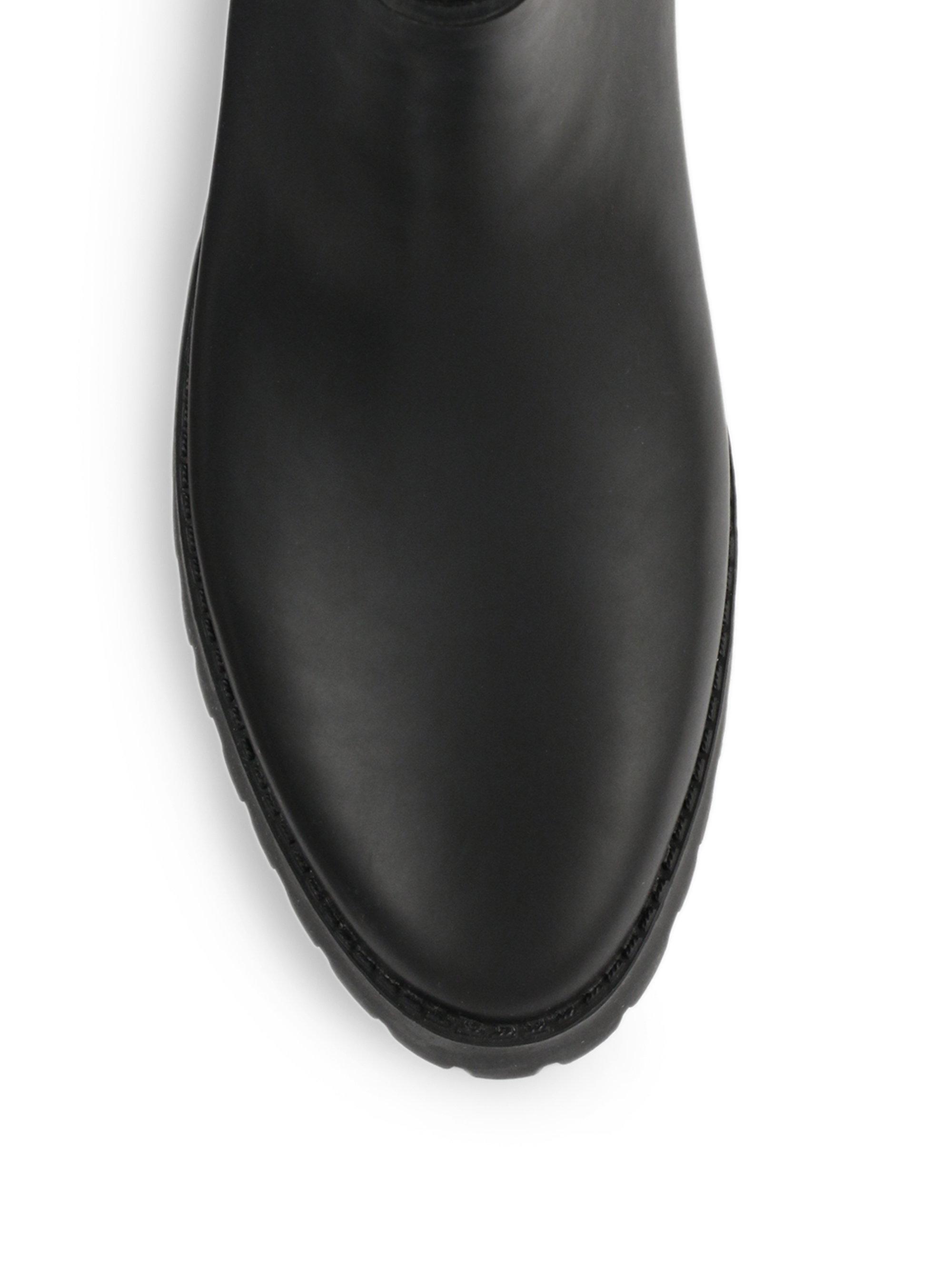 Lyst Loeffler Randall Rain Charlie Rubber Platform Boots