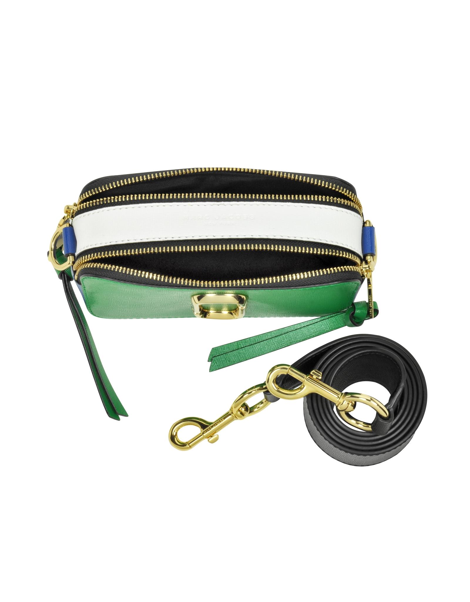 01cbb7af6 Marc Jacobs Snapshot Green Grass Saffiano Leather Small Camera Bag ...