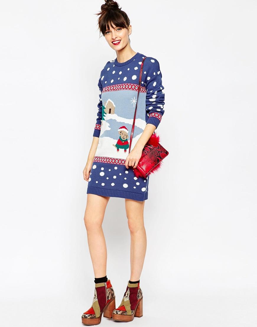 Cheap christmas jumper dresses