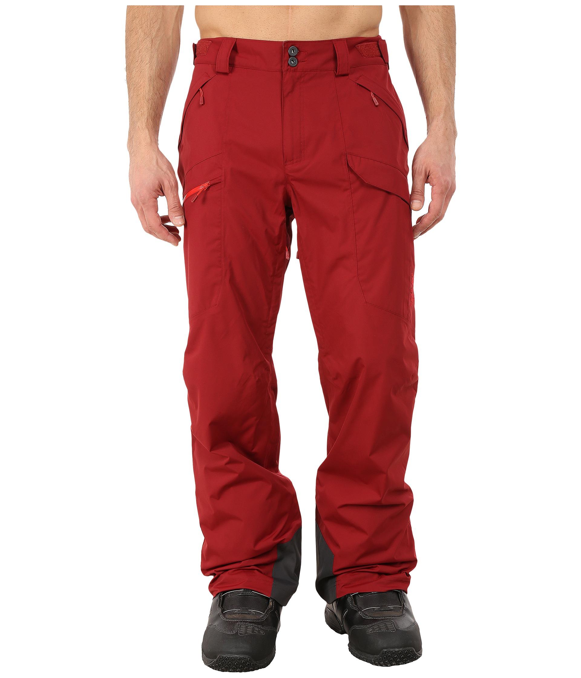 Mountain hardwear Returnia™ Cargo Pants in Red for Men | Lyst