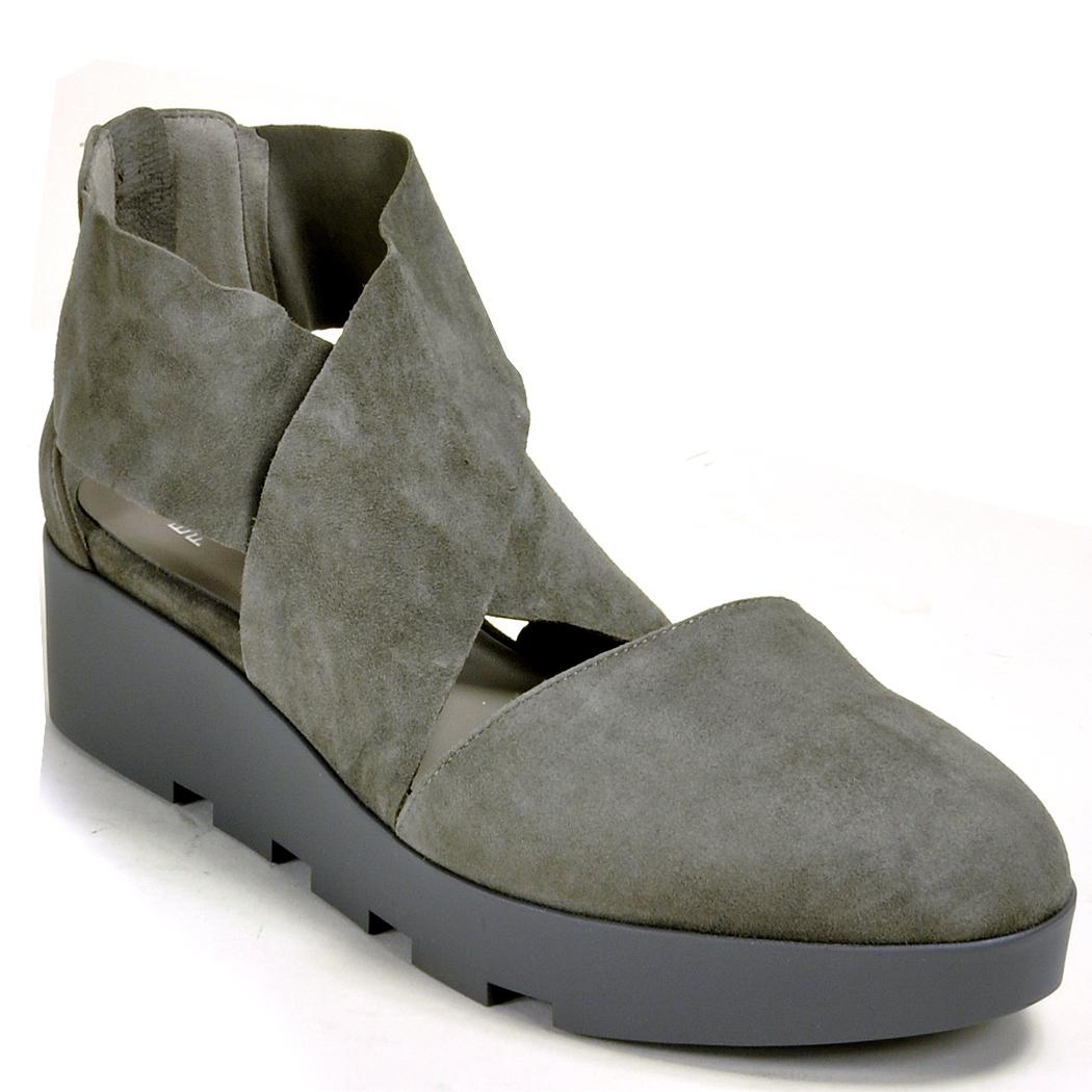 Lyst Eileen Fisher Lug Sandal In Gray
