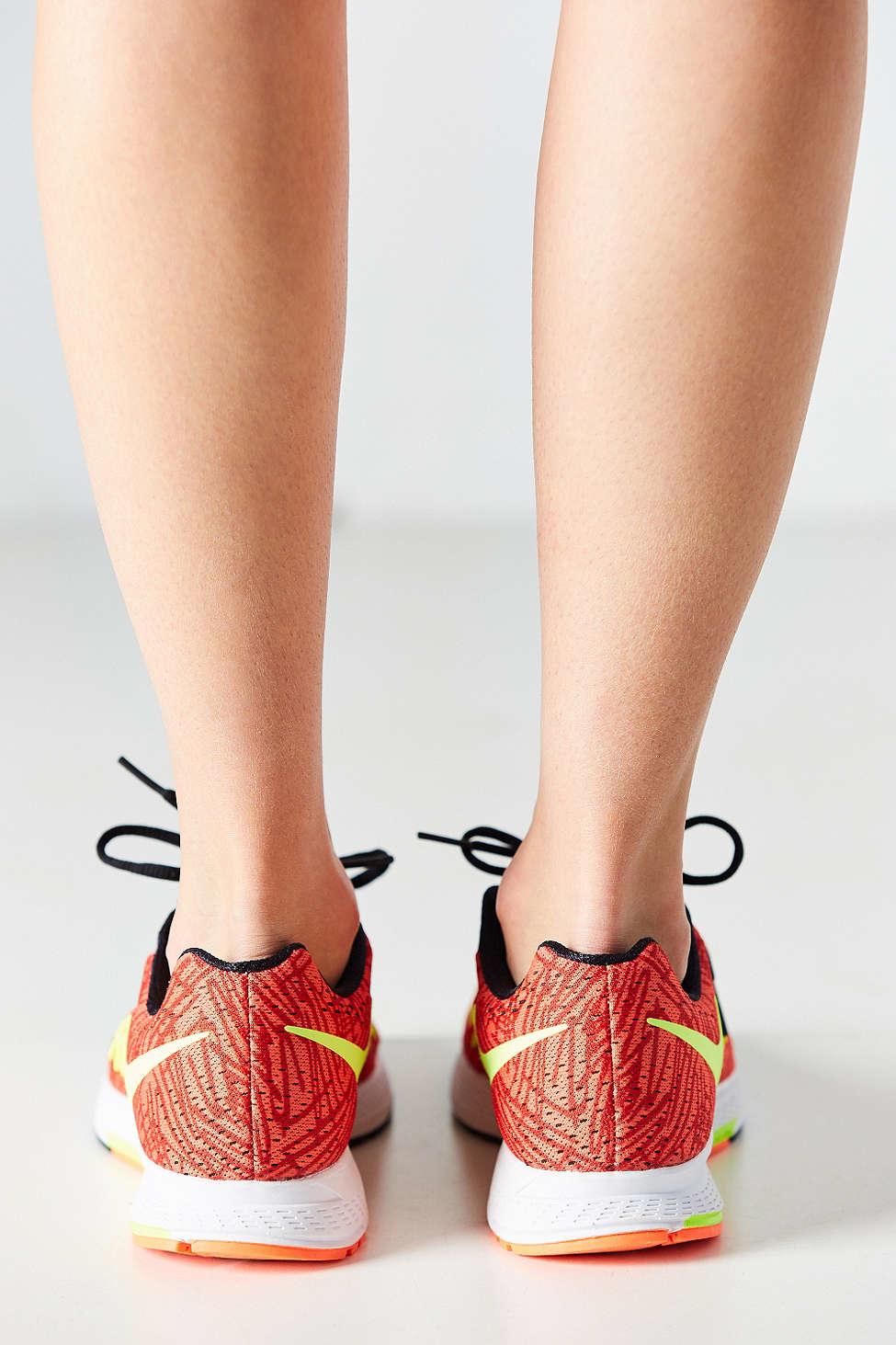 60bf511e12f ... hot lyst nike air zoom pegasus 32 printed sneaker in orange 3090d 8e0b5