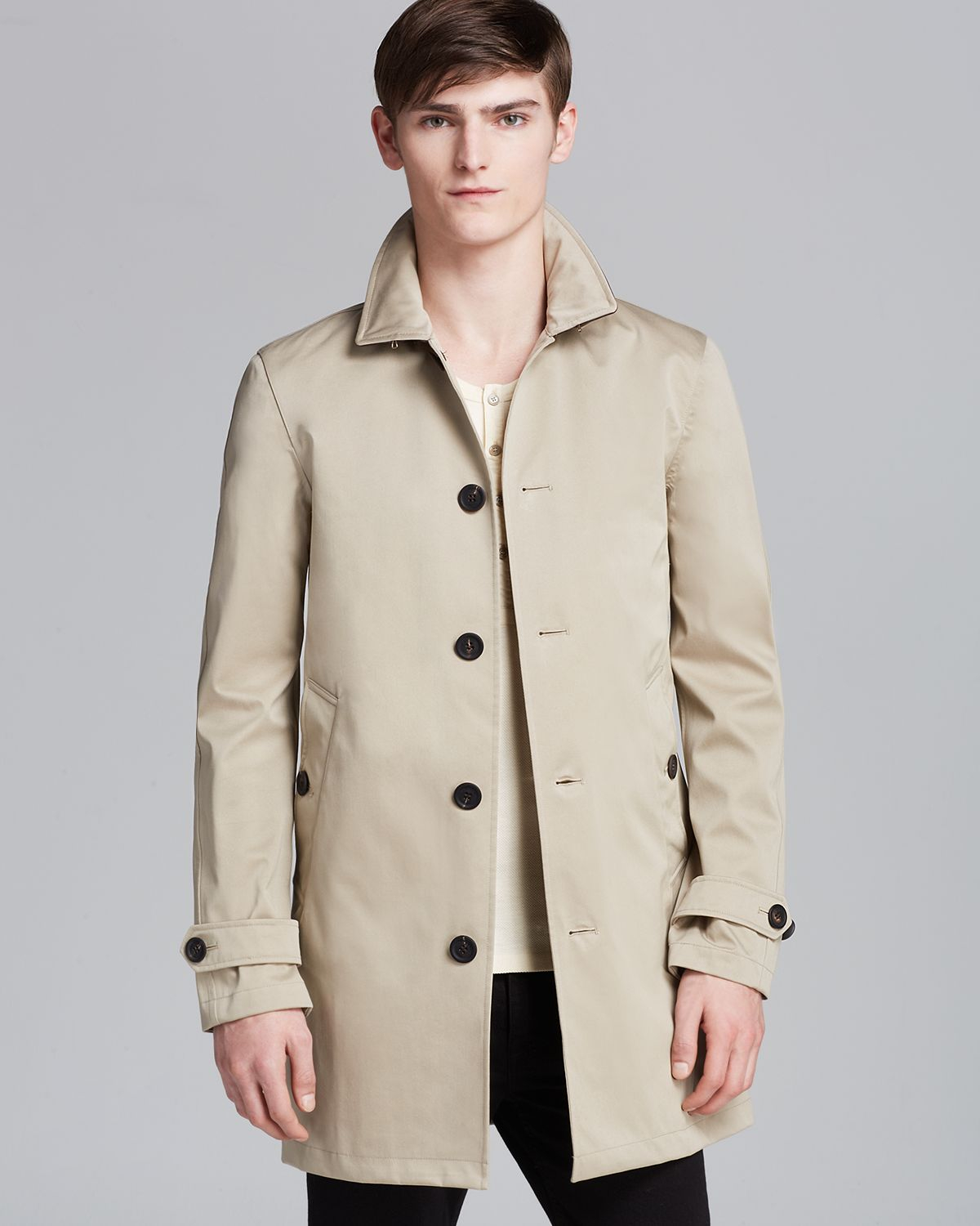 For Men Thurold Trench In Burberry Brit Natural Lyst 1q0wFEYc