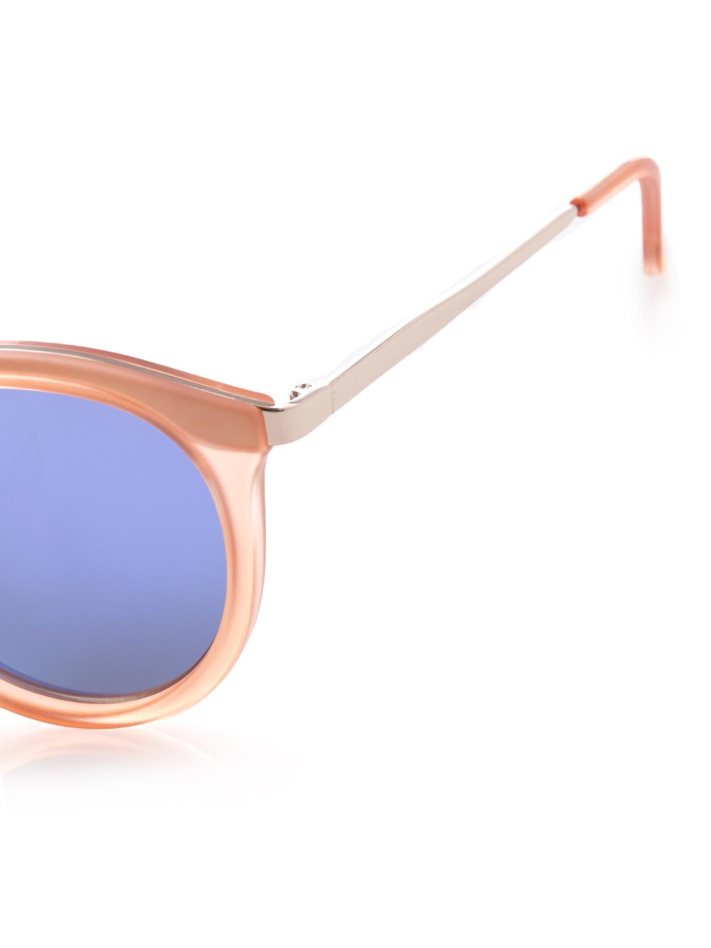 52ebfd4d54 Lyst - Le Specs No Smirking Sunglasses in Orange