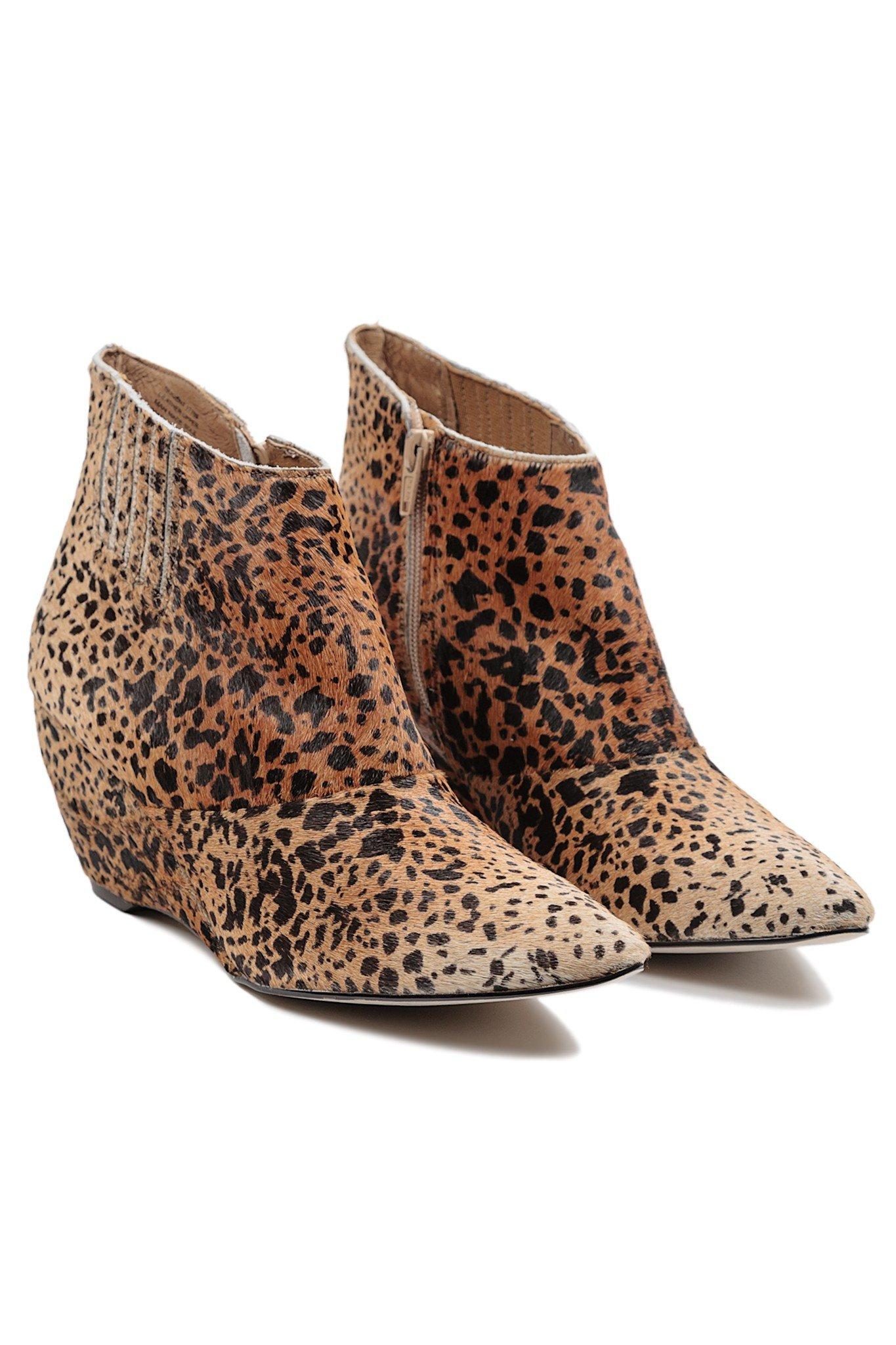 Matisse Nugent Leopard Booties in Animal (LEO)