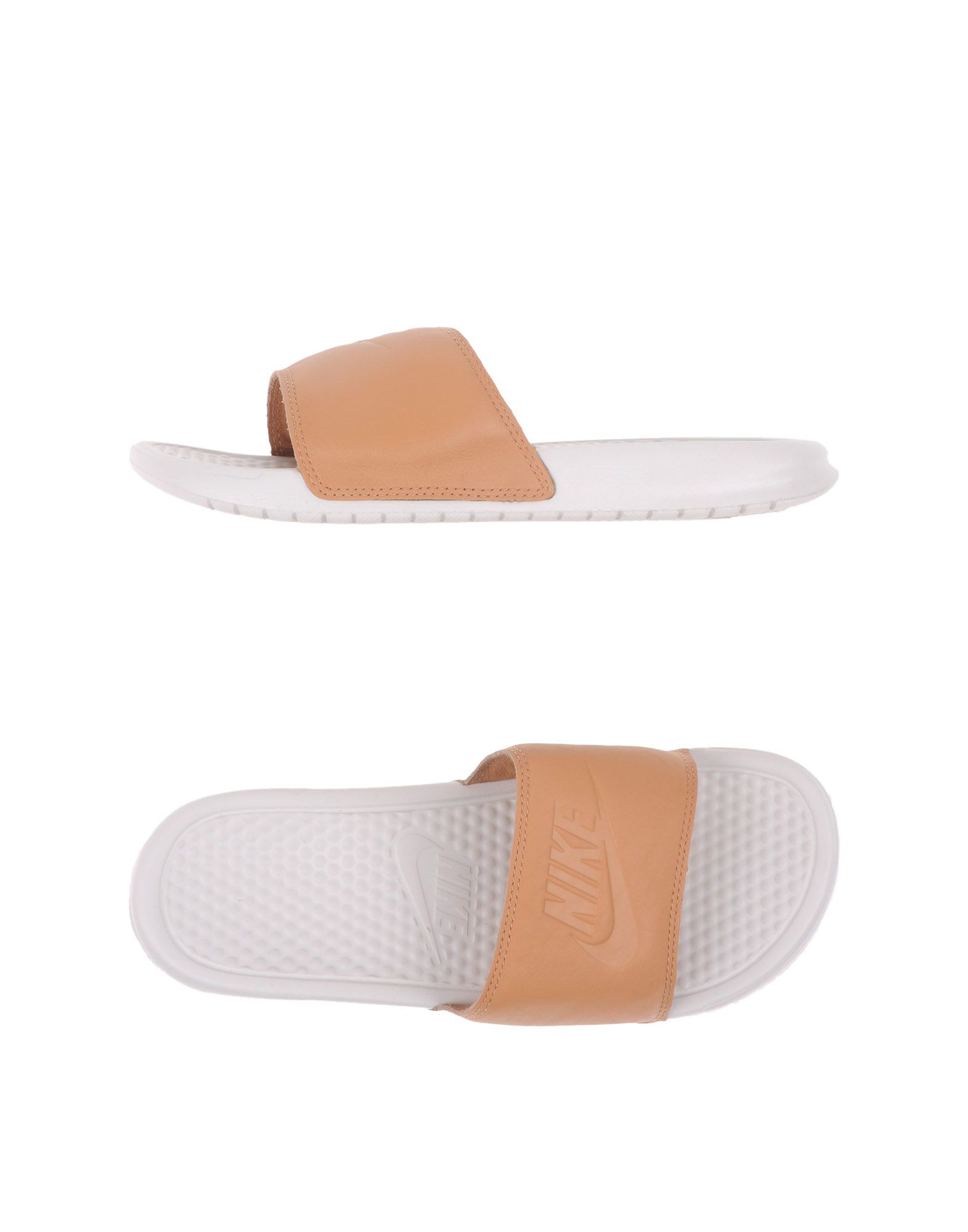 ff16c9e8347d ... official nike sandals in natural for men lyst d8cc5 11084