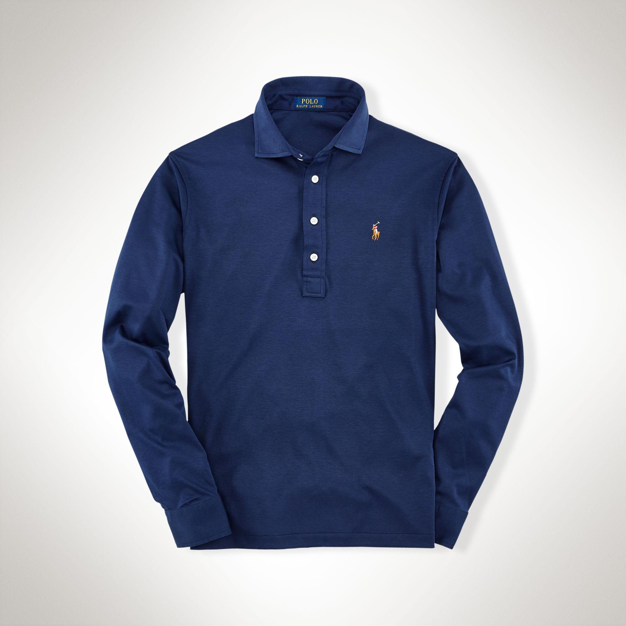 Polo Men Ralph Lauren Darkblue Short Sleeved