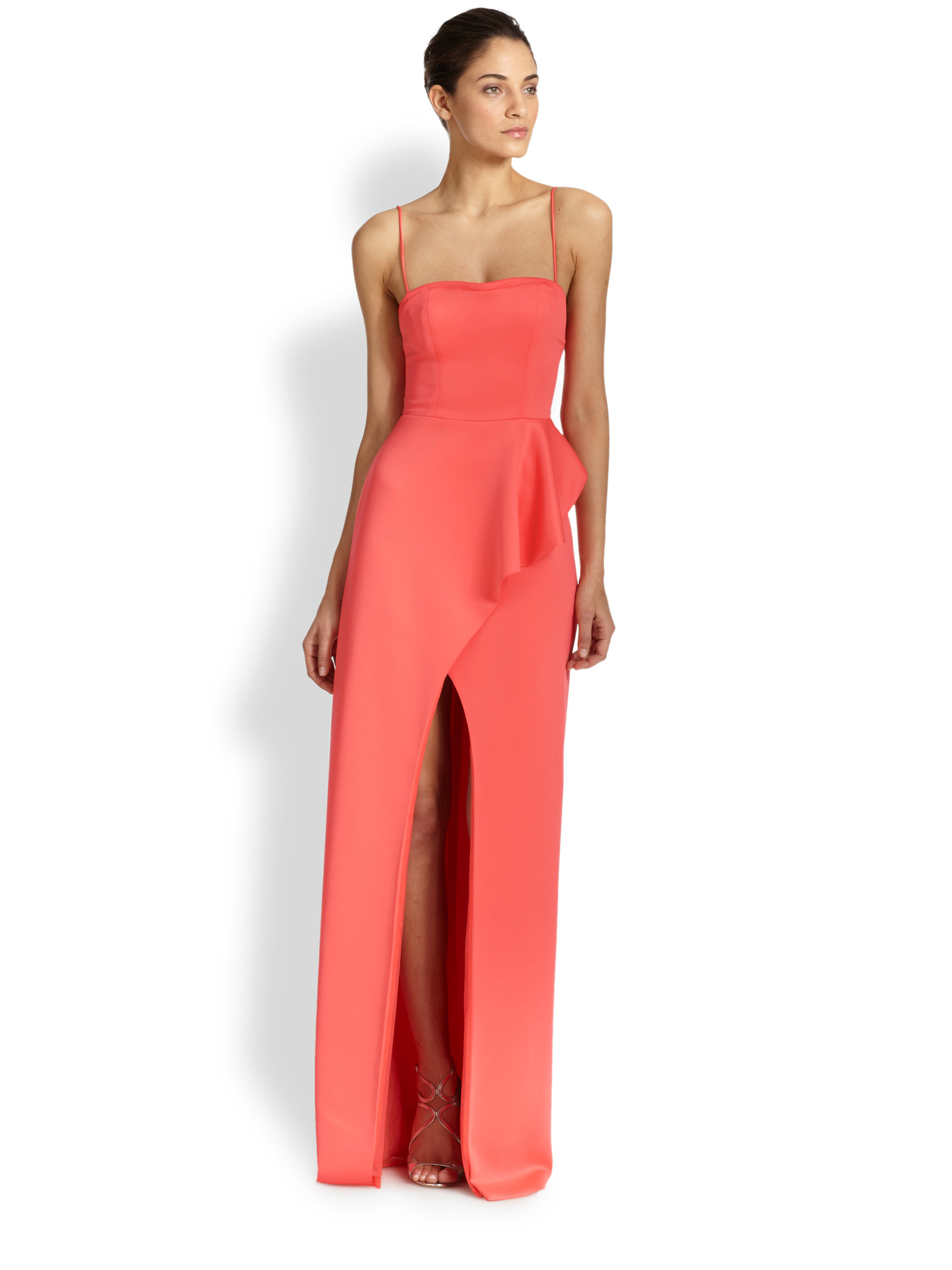 Lyst - Black Halo Eminence Gown in Red