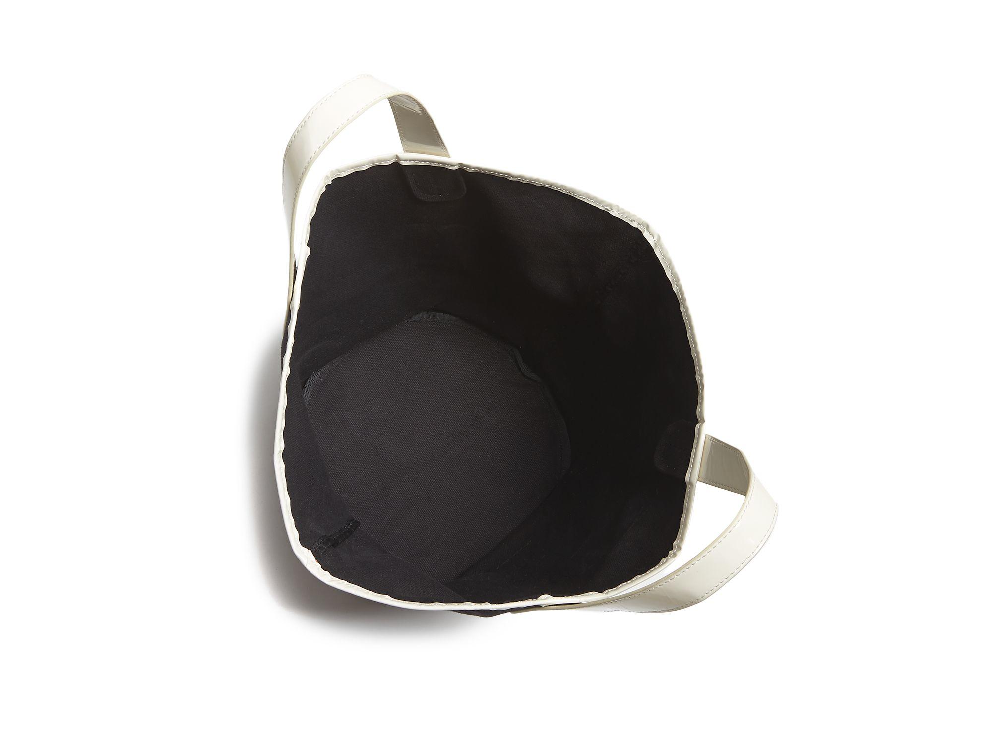 Frances Valentine Fv Canvas Tote in Black/White (Black)