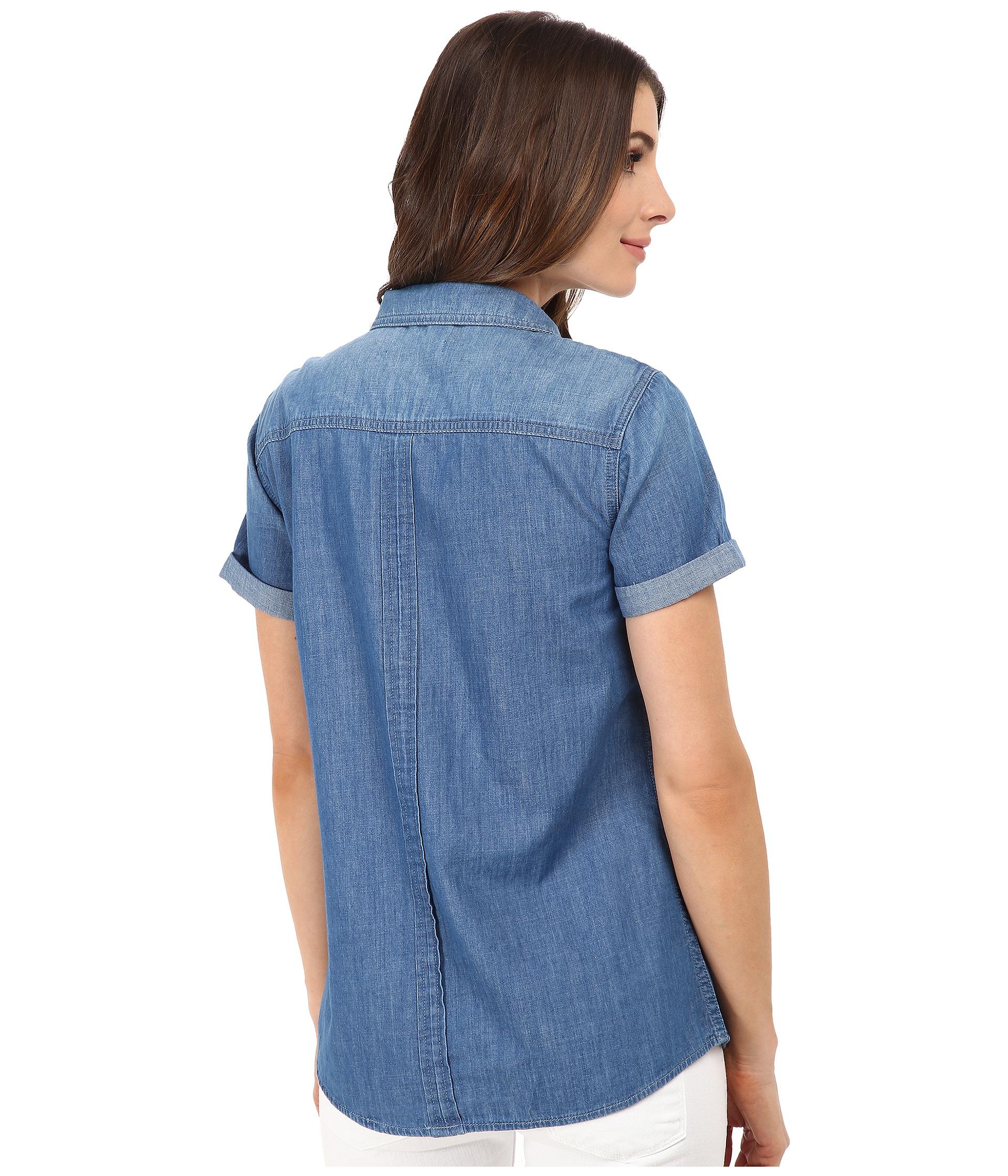 denim shirt pockets - photo #49