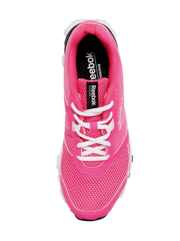 Reebok Hexaffect Mesh Running Sneakers in Fuchsia (Purple)