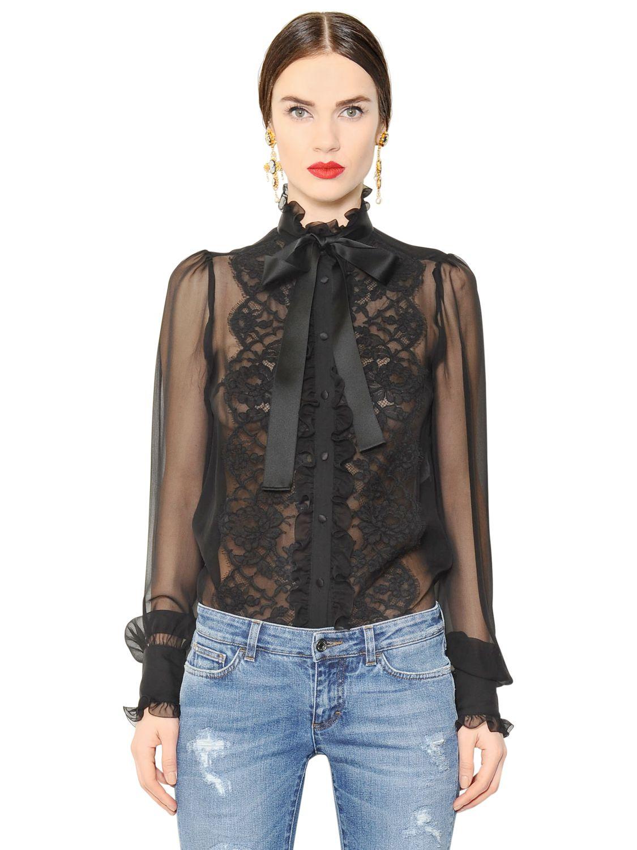 e2a0e607 Dolce And Gabbana Black Lemon Silk Shirt   The Art of Mike Mignola