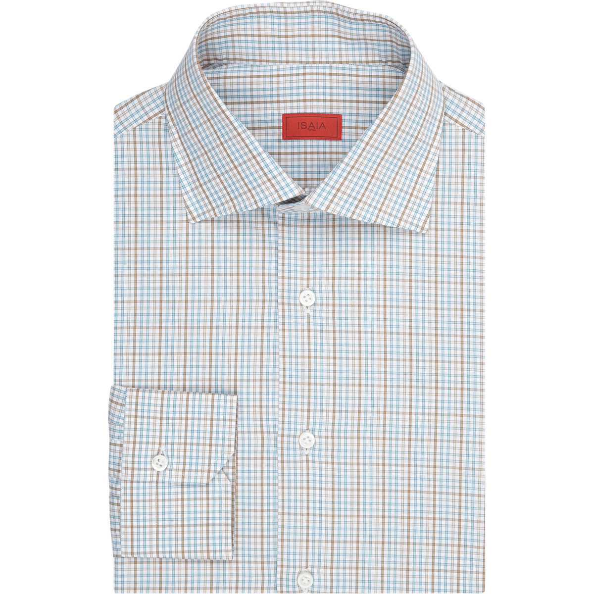 Isaia Men 39 S Plaid Shirt In Green For Men Lyst