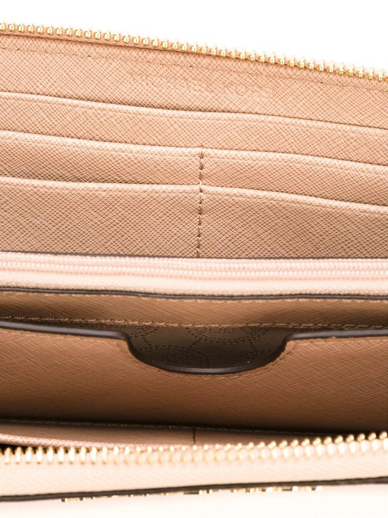 zip around wallet - Nude & Neutrals Michael Michael Kors EDcTCD1