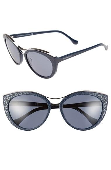 Half Cat Eye Sunglasses Balenciaga David Simchi Levi