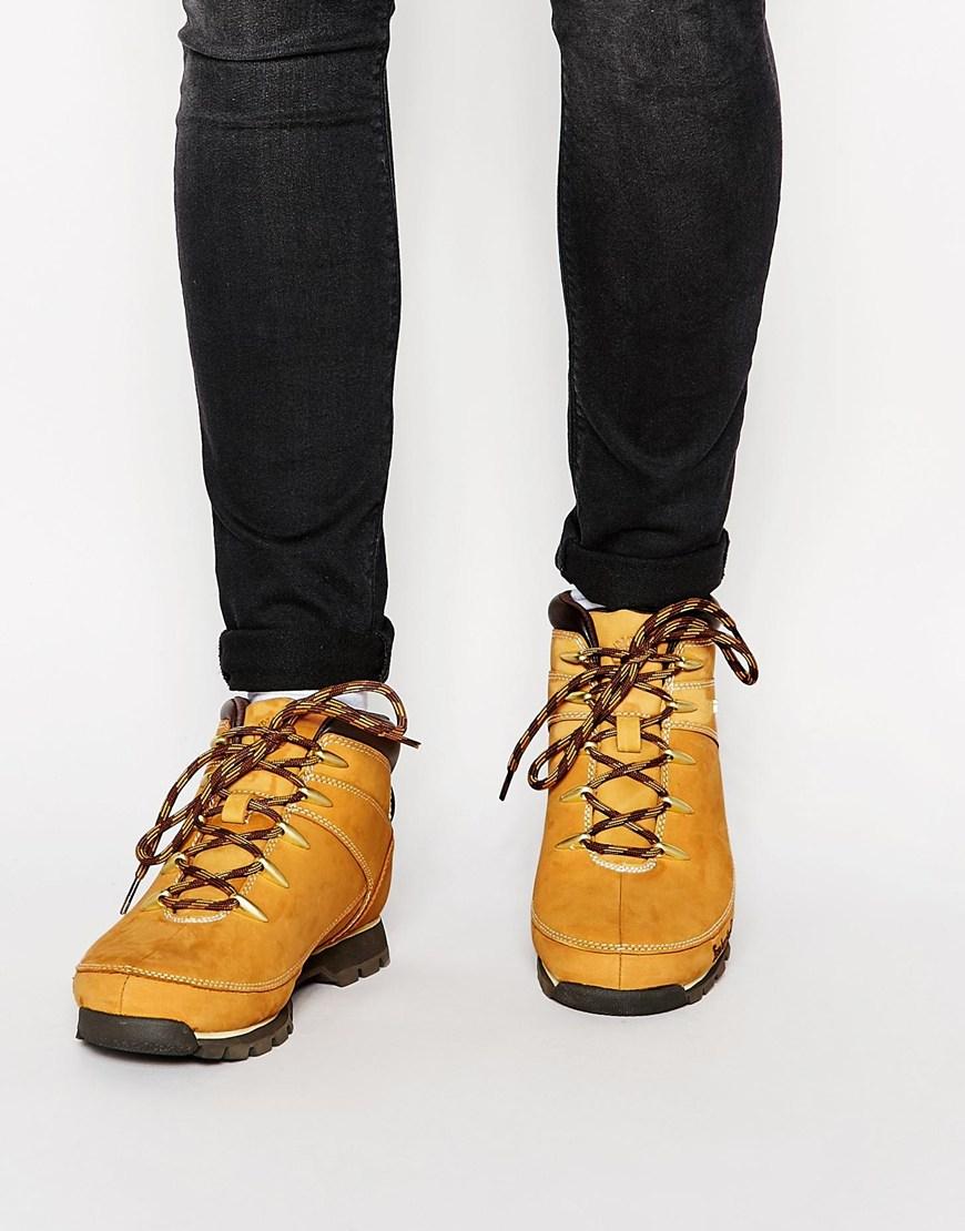 545898e72b7 Timberland Brown Euro Sprint Hiker Boots for men