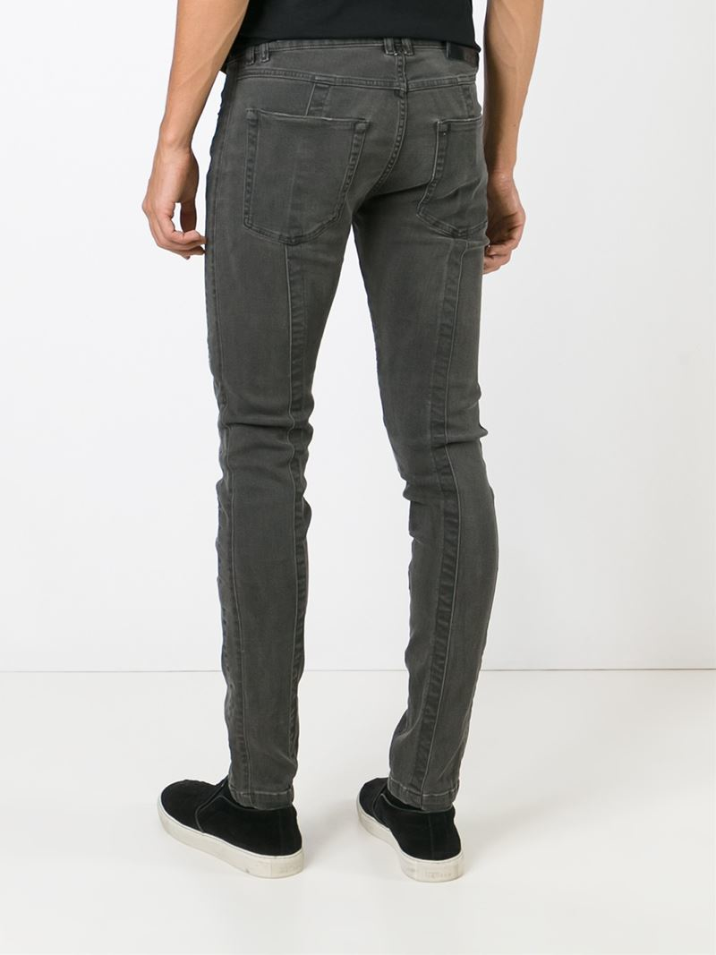 99cda6a4d45 Diesel Black Gold 'type 255' Skinny Jeans in Black for Men - Lyst