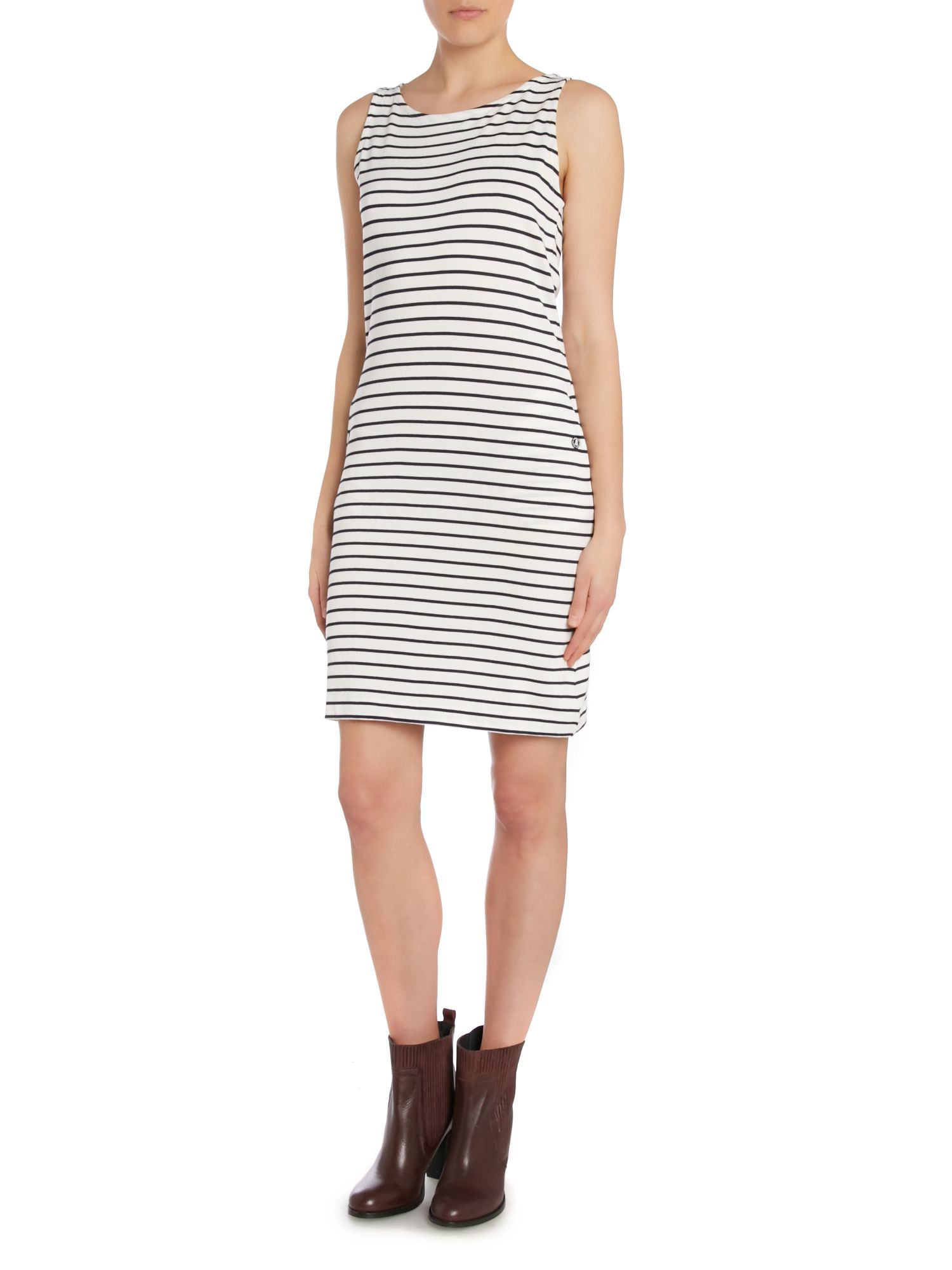 Barbour Dalmore Stripe Jersey Shift Dress in Multicolor   Lyst