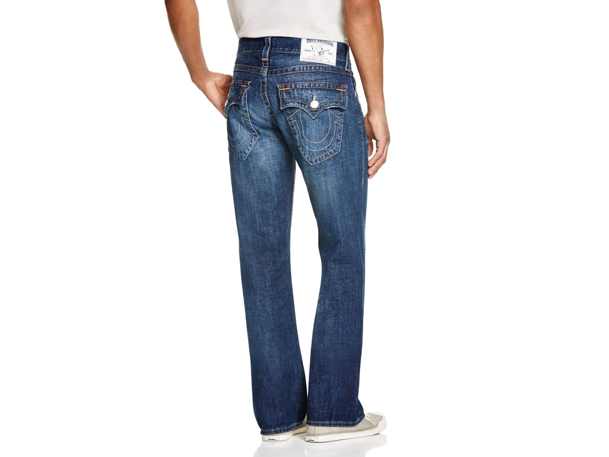 True Religion Denim Basic Flap Pocket Bootcut Jeans In Multi - Compare At $216 for Men