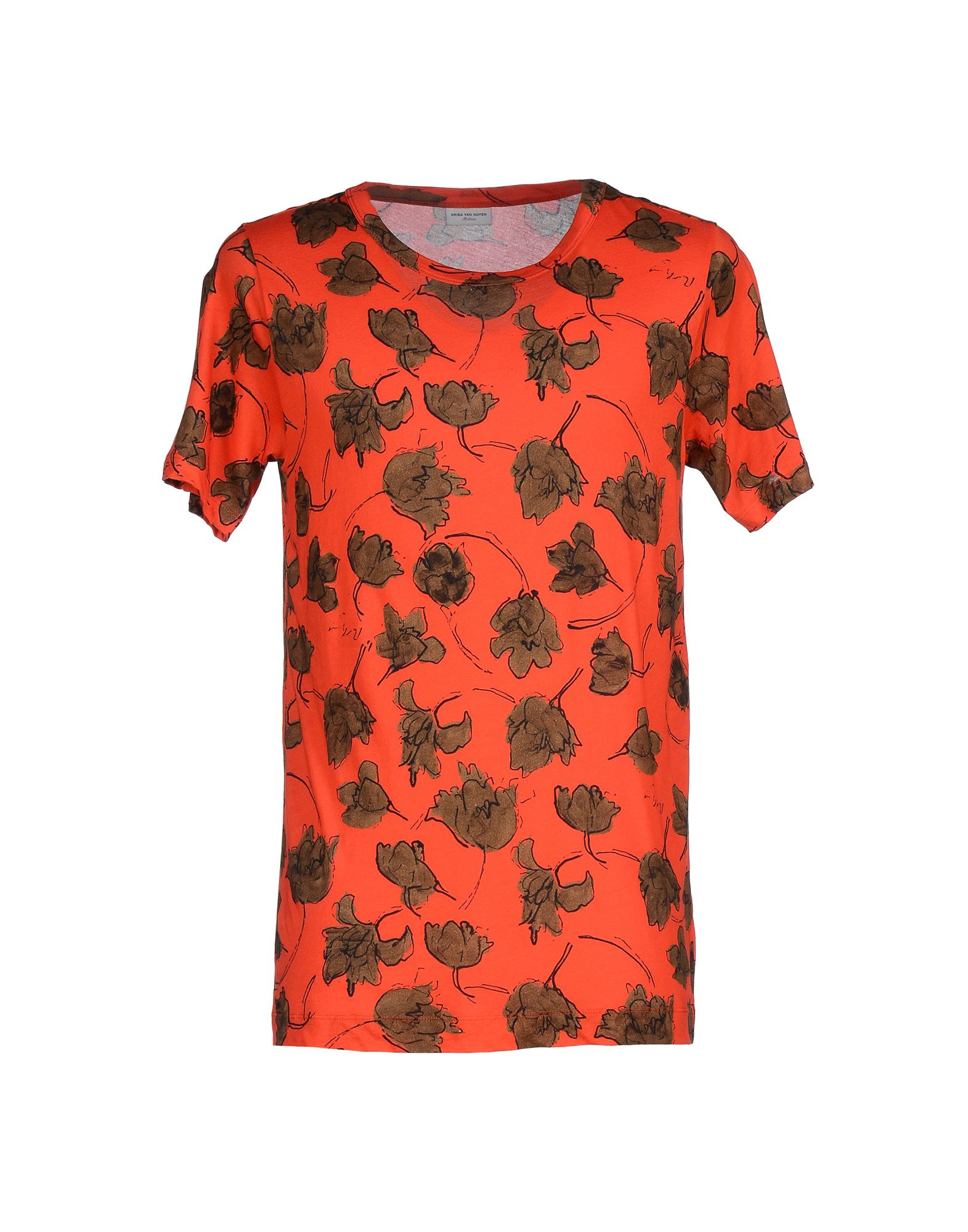 lyst dries van noten t shirt in red for men
