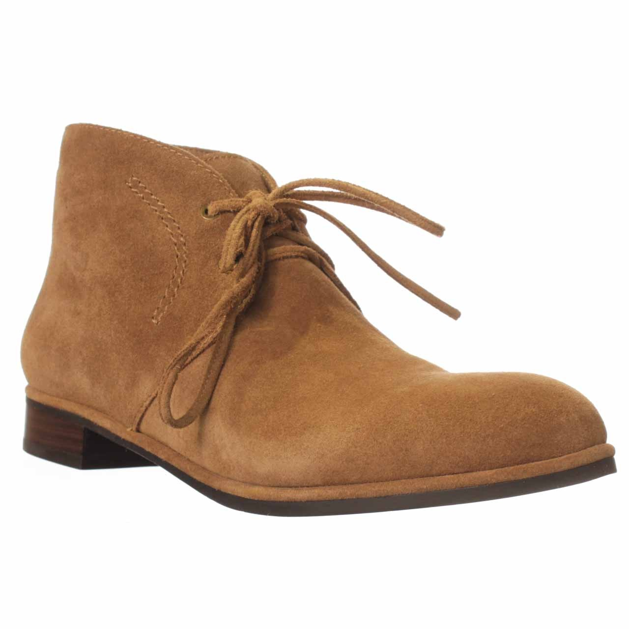 via spiga ignia ankle boot in brown lyst
