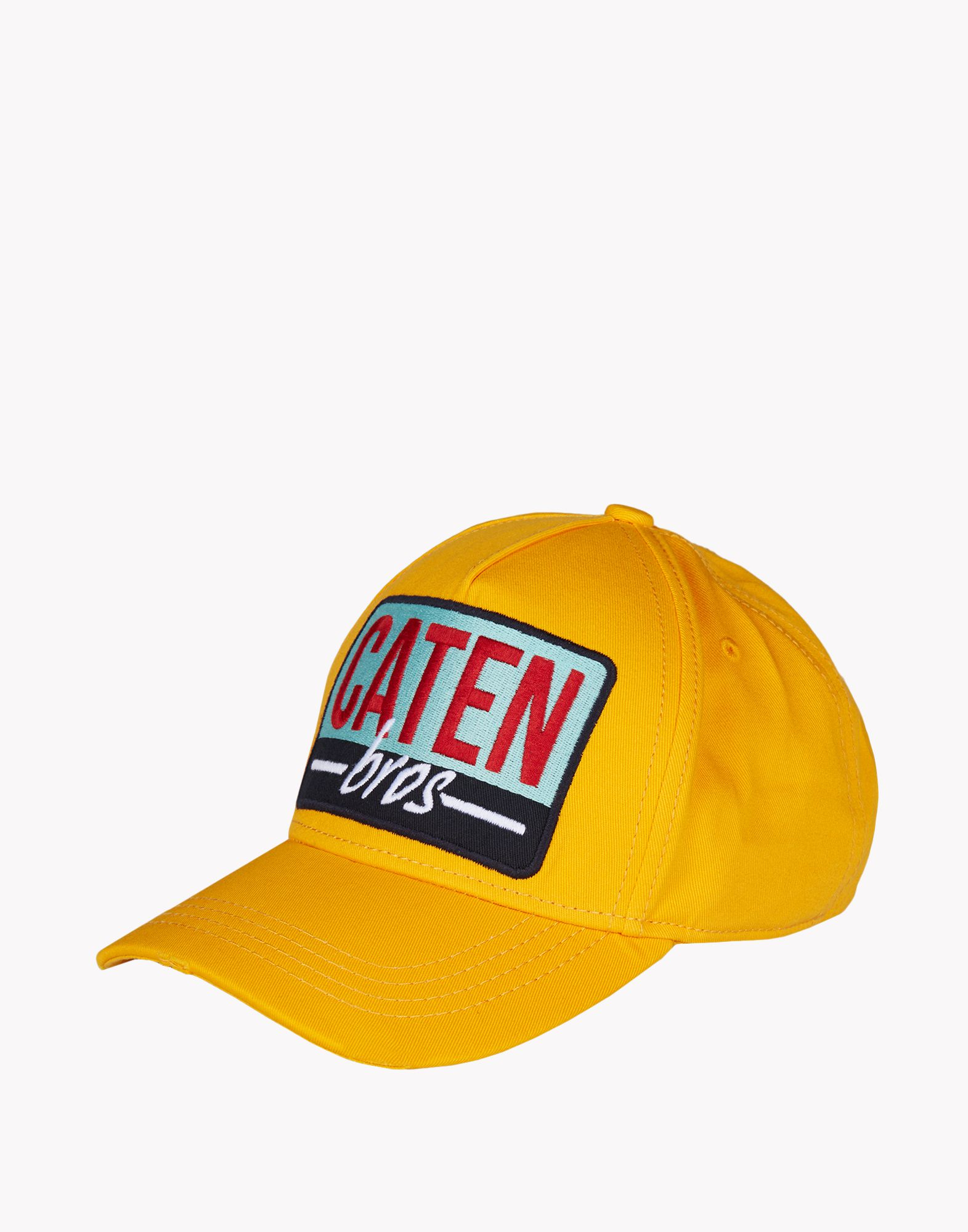 dsquared 178 baseball cap in yellow for lyst
