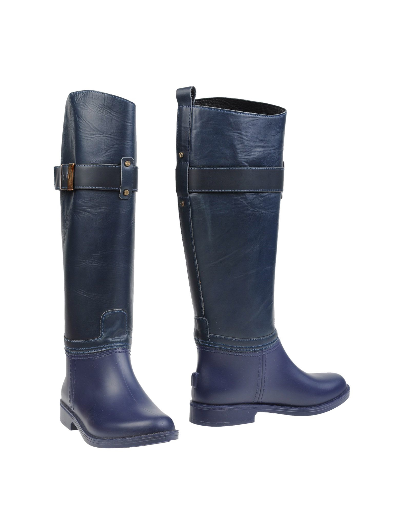 scholl boots in blue blue lyst