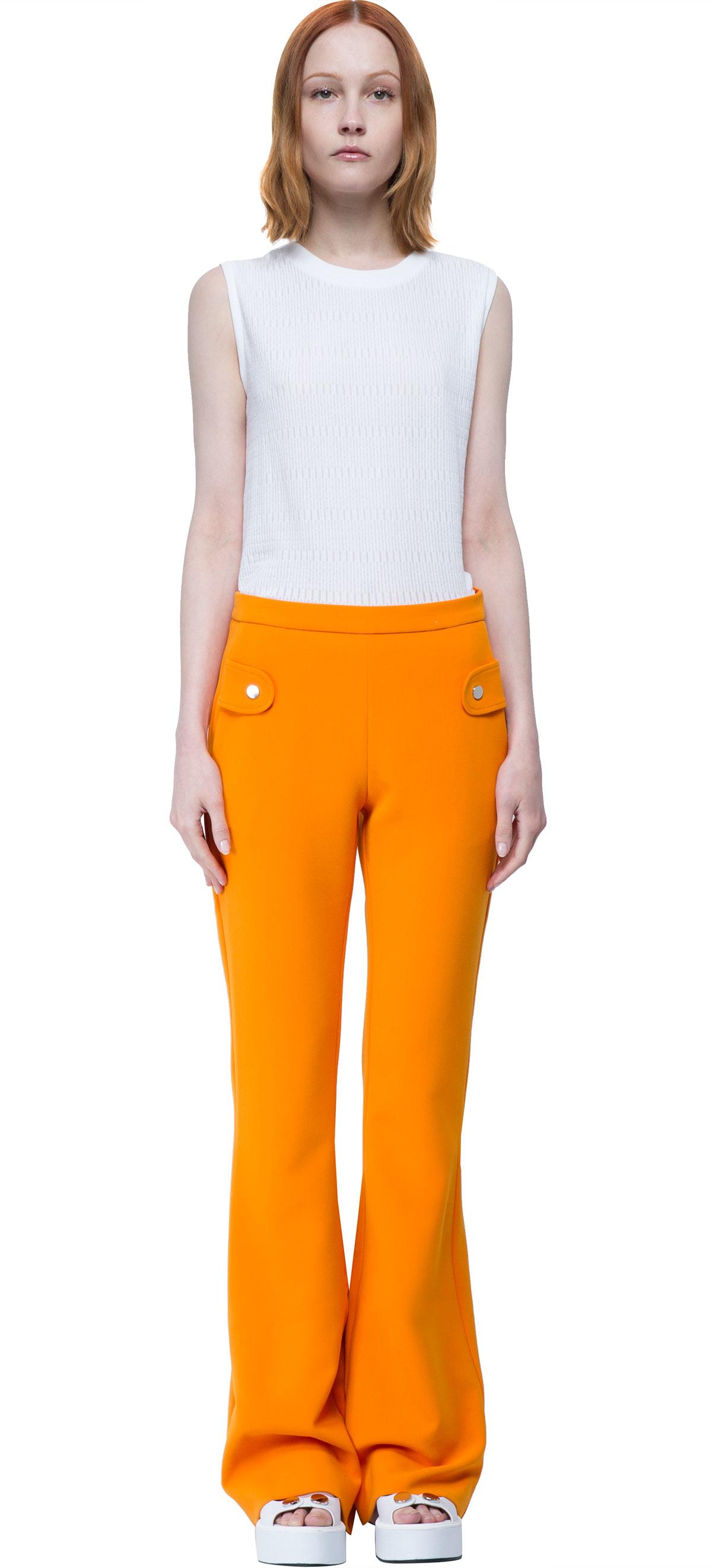 Carven Pant in Orange