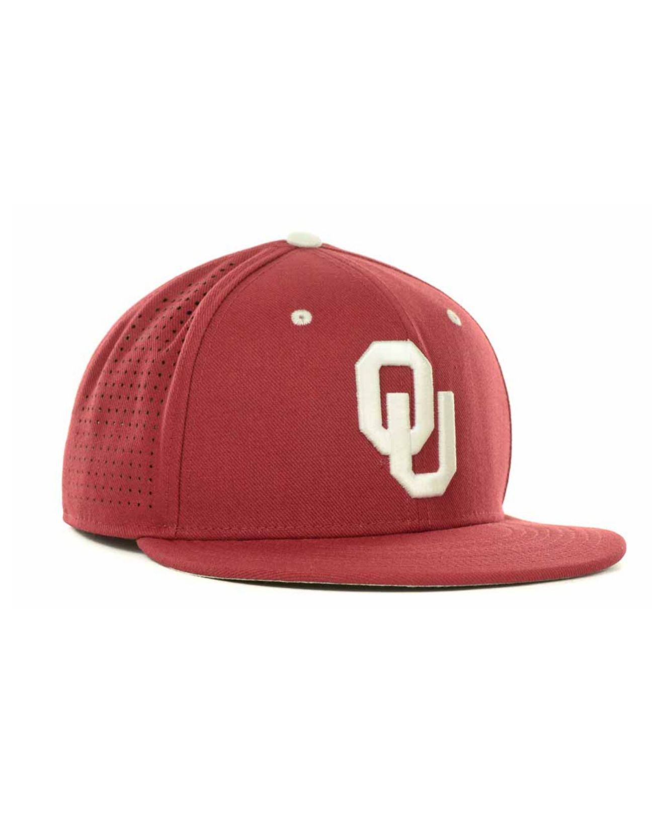 fce60908ed29ba Nike Oklahoma Sooners Ncaa Authentic Vapor Fitted Cap in Red for Men ...