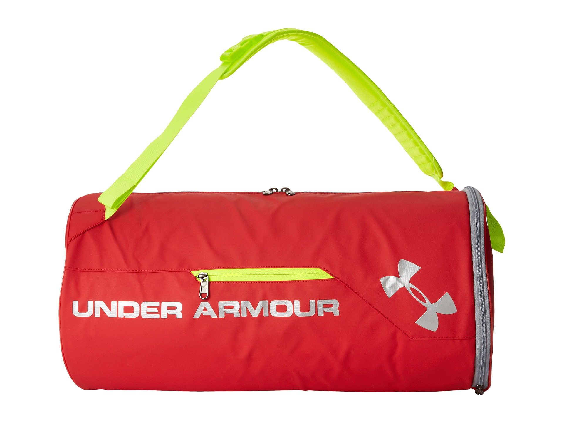 39c11a2f31aa Lyst - Under Armour Ua Isolate Duffel in Red for Men