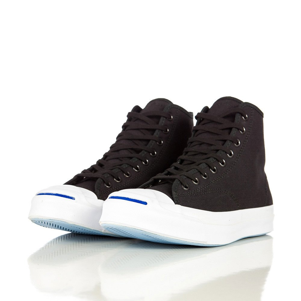 801dbdebe437 Lyst - Converse Jack Purcell Signature Duck Canvas Hi In Black in ...