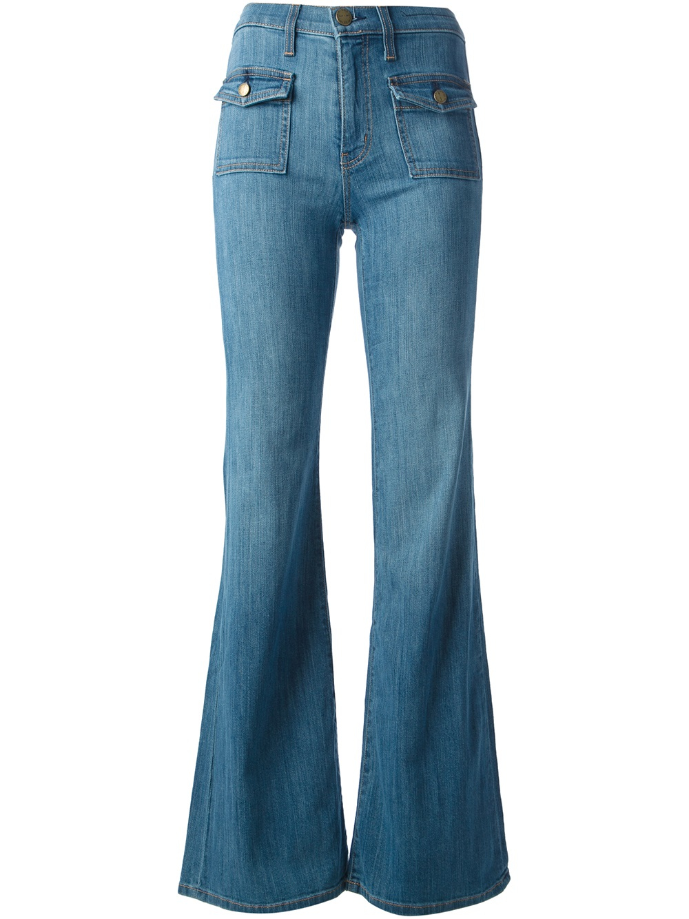 Womens Flare Leg Jeans