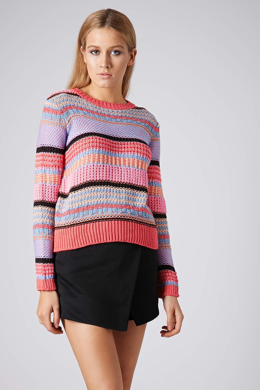 Womens striped pastel pants