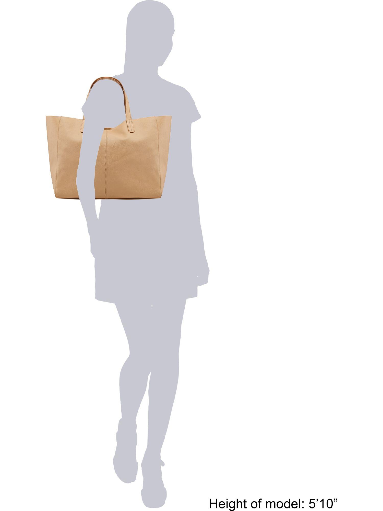 Linea Weekend Sandy Tote Handbag in Natural