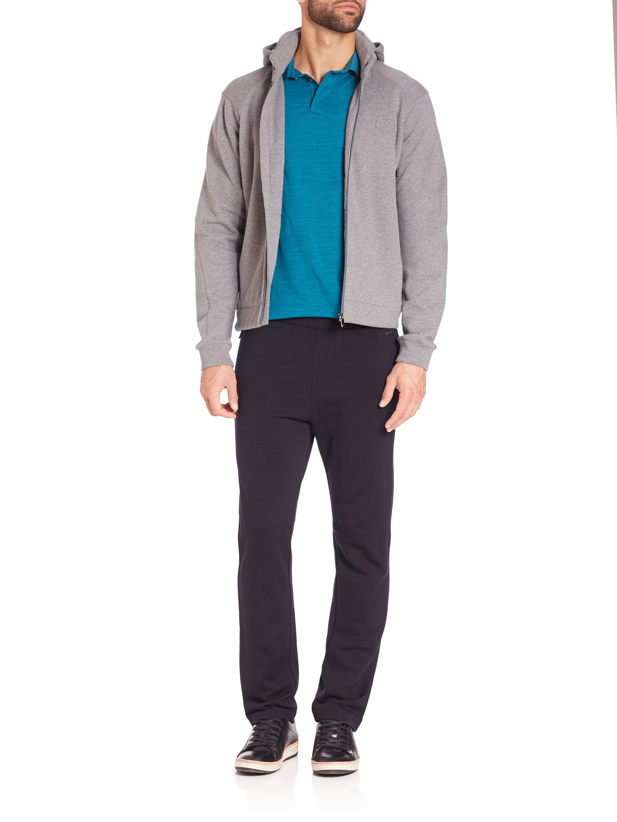 Lyst Z Zegna Travel Sweatshirt In Gray For Men