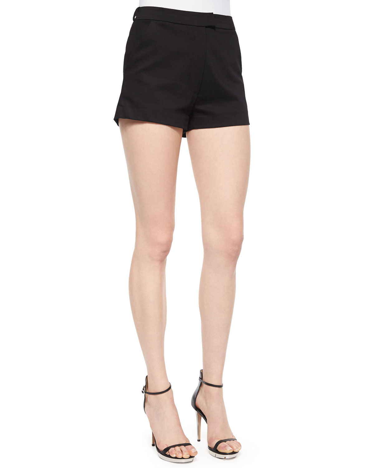 Alexis Neri Dress Shorts in Black  Lyst
