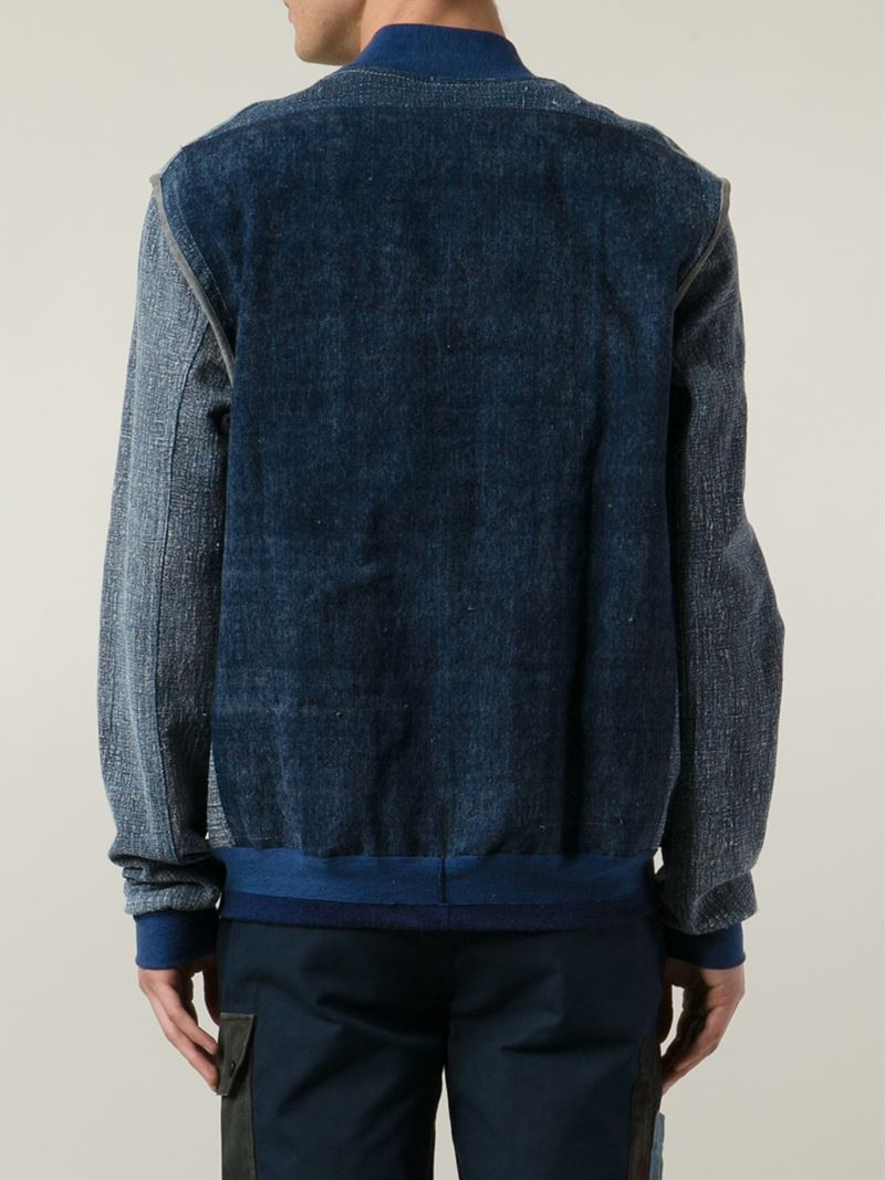 Longjourney The Webster X Bomber Jacket in Blue for Men