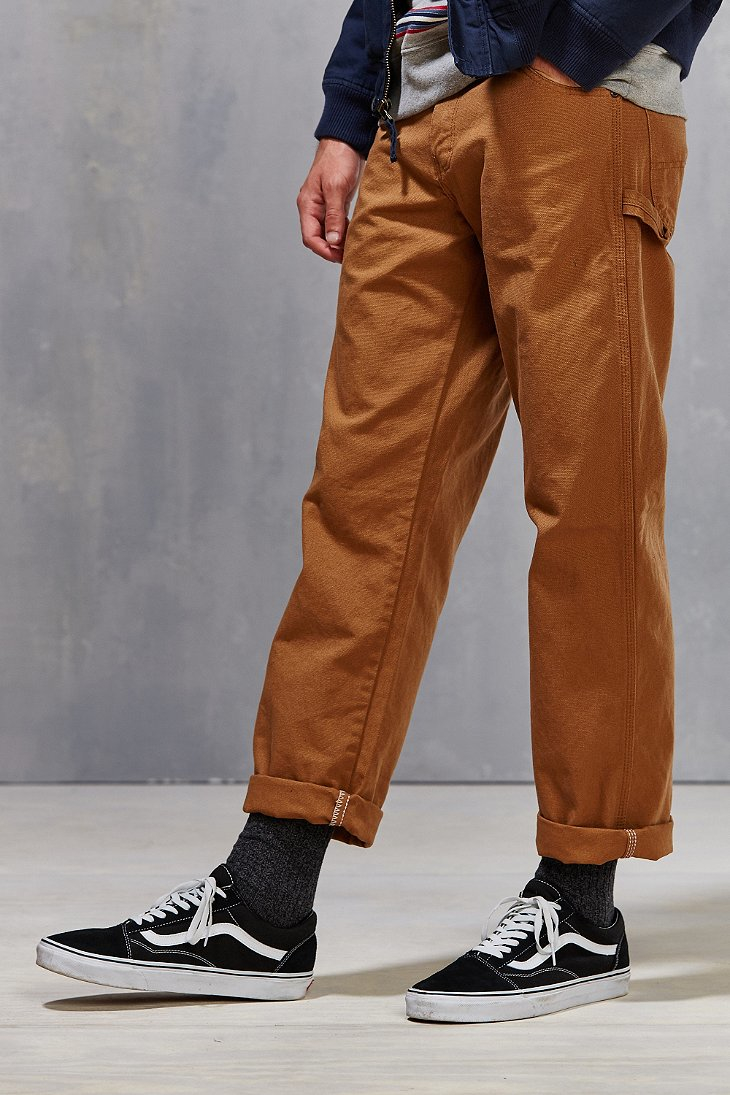 042ac7f025272 Dickies Relaxed-fit Straight-leg Carpenter Pant in Brown for Men - Lyst