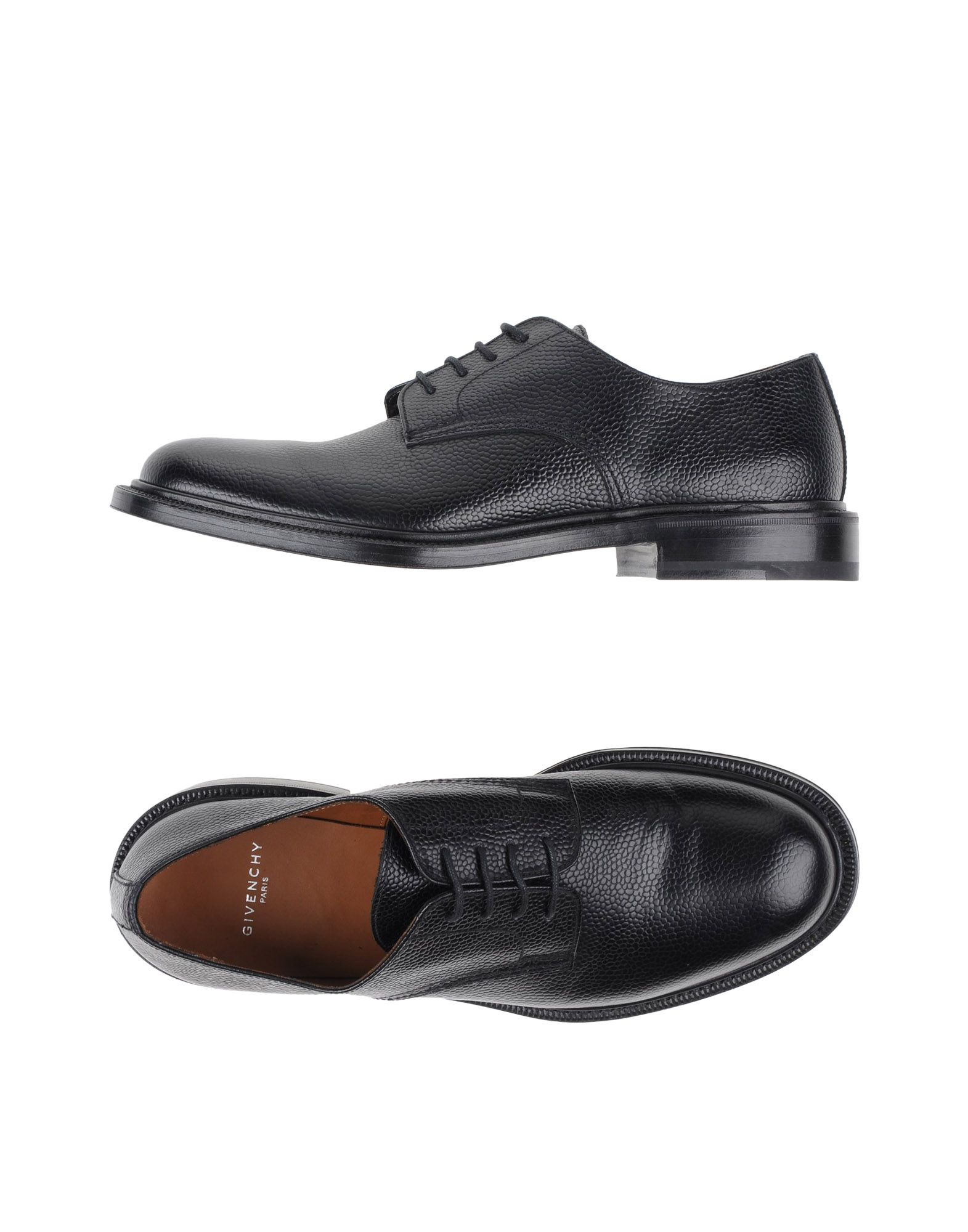 givenchy lace up shoe in black lyst