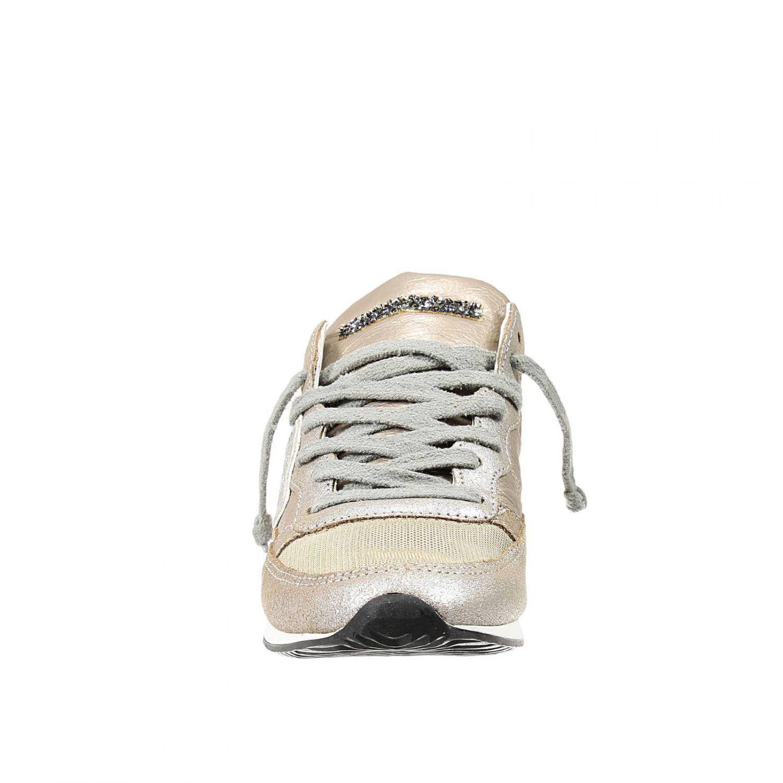 philippe model sneakers in beige powder lyst. Black Bedroom Furniture Sets. Home Design Ideas
