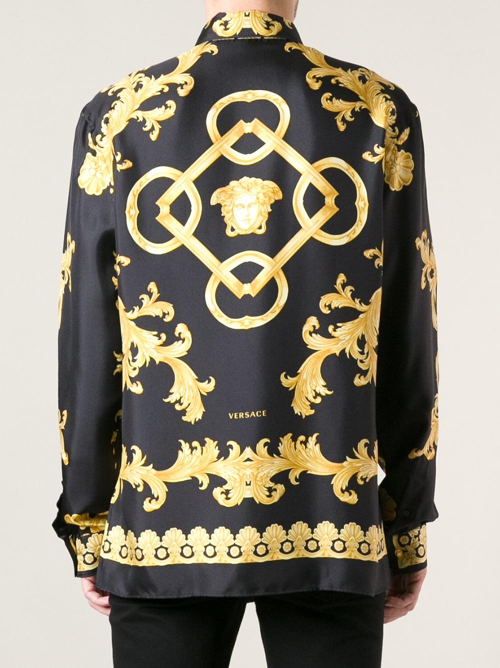 Versace Silk Shirt Men
