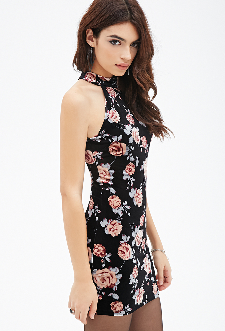 Print and Floral Select a Lulus Part of Me Black Rose Print Maxi Dress $78 Lulus Bouquet, Girl, Hey! Navy Blue Floral Print Wrap Maxi Dress $78 LUSH Felina Brown Leopard Print Asymmetrical Midi Dress $45 Lulus Garden Gal Black Floral Print Mock Neck Long Sleeve Midi Dress.