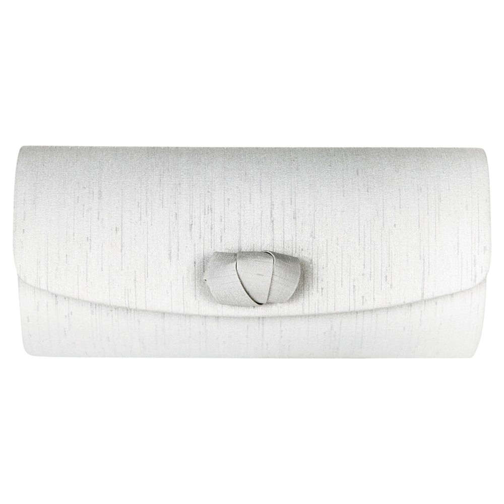 2e32d03b63 Jacques Vert Curl Detail Clutch Bag in Gray - Lyst