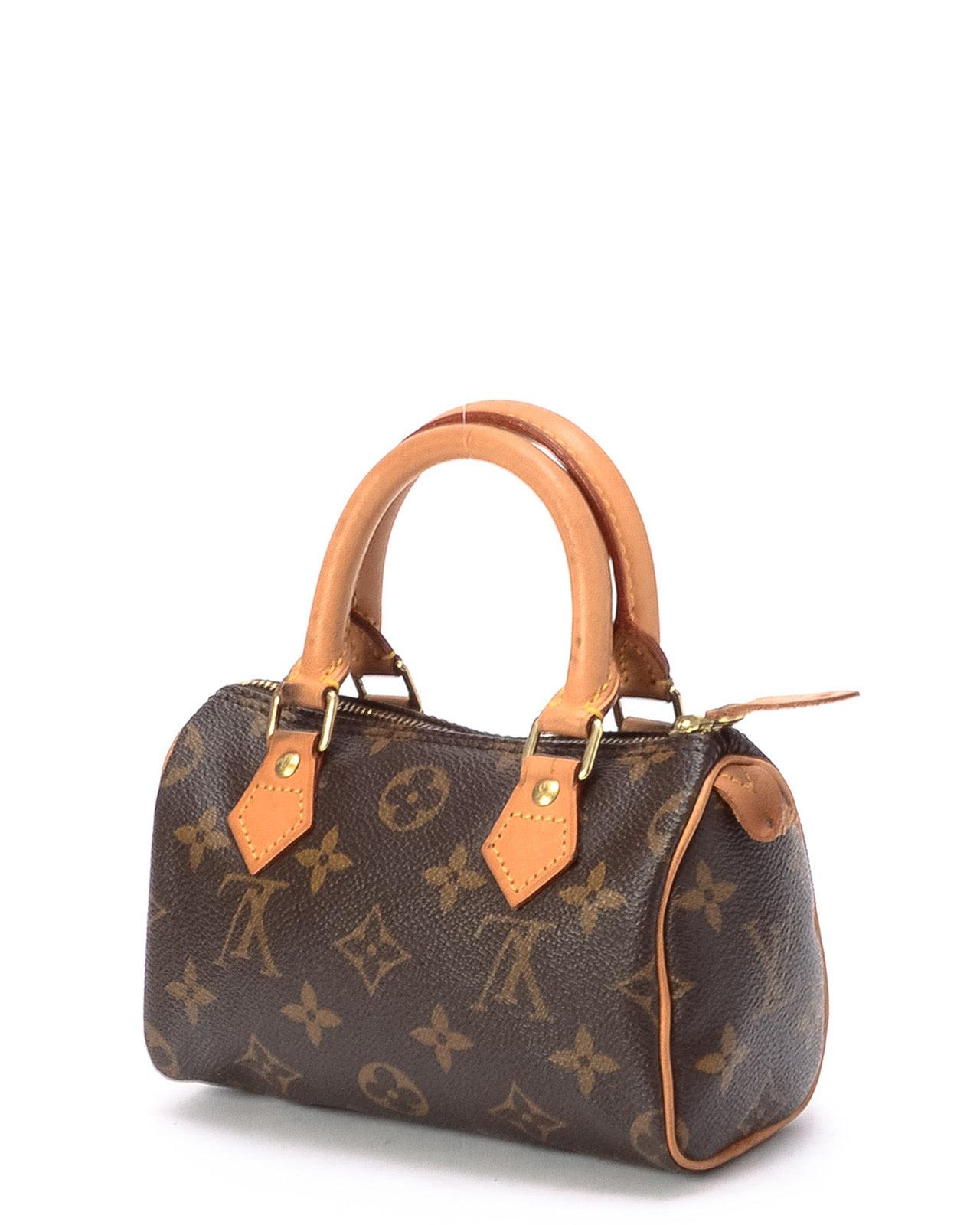 2afa4ed060cd Louis Vuitton Monogram Mini Speedy Handbag in Brown - Lyst