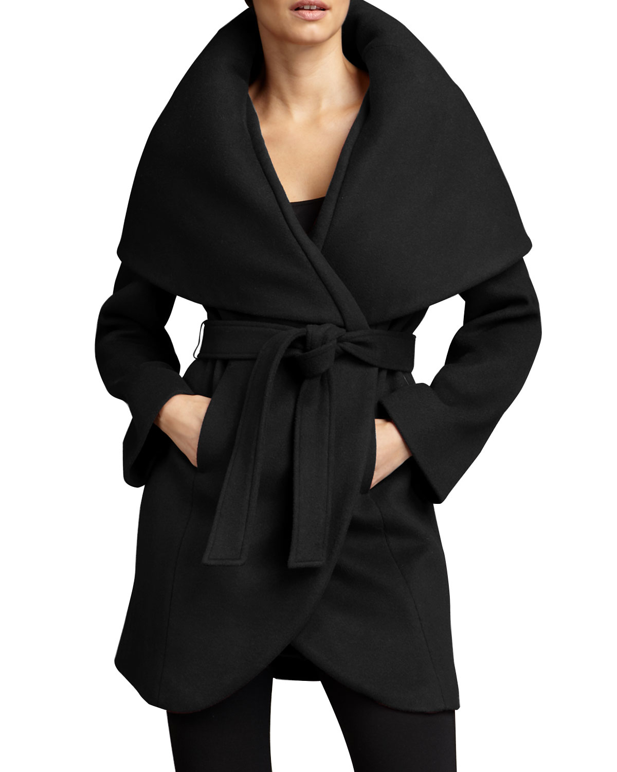 Shop for black wrap coat at report2day.ml Free Shipping. Free Returns. All the time.