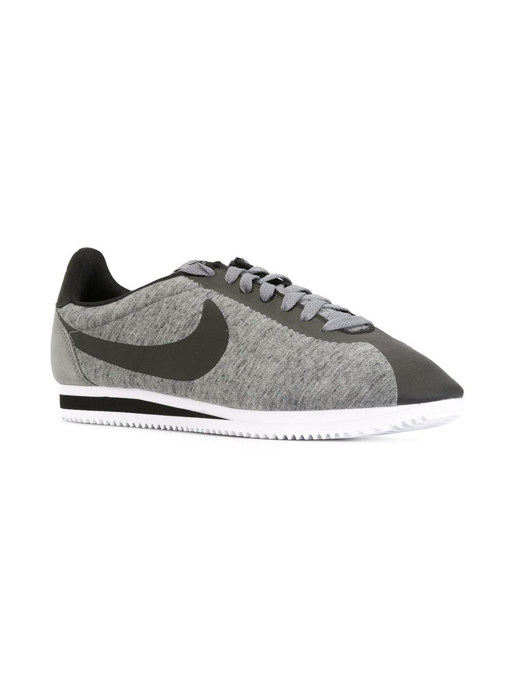 Nike 'cortez Fleece' Sneakers in Grey